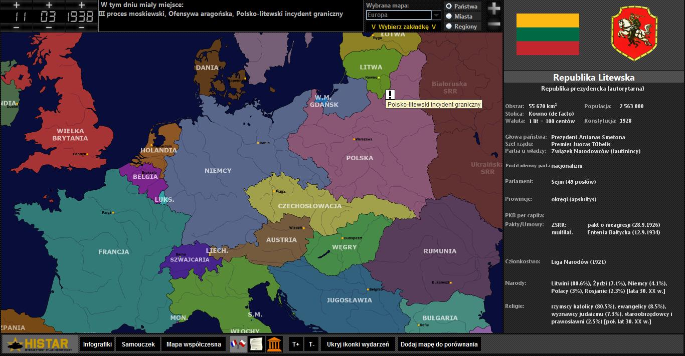 Atlas Historyczny HISTAR wersja 1.0.0