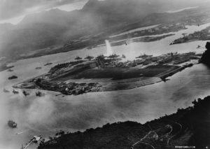 Atak na Pearl Harbor, 7 grudnia 1941