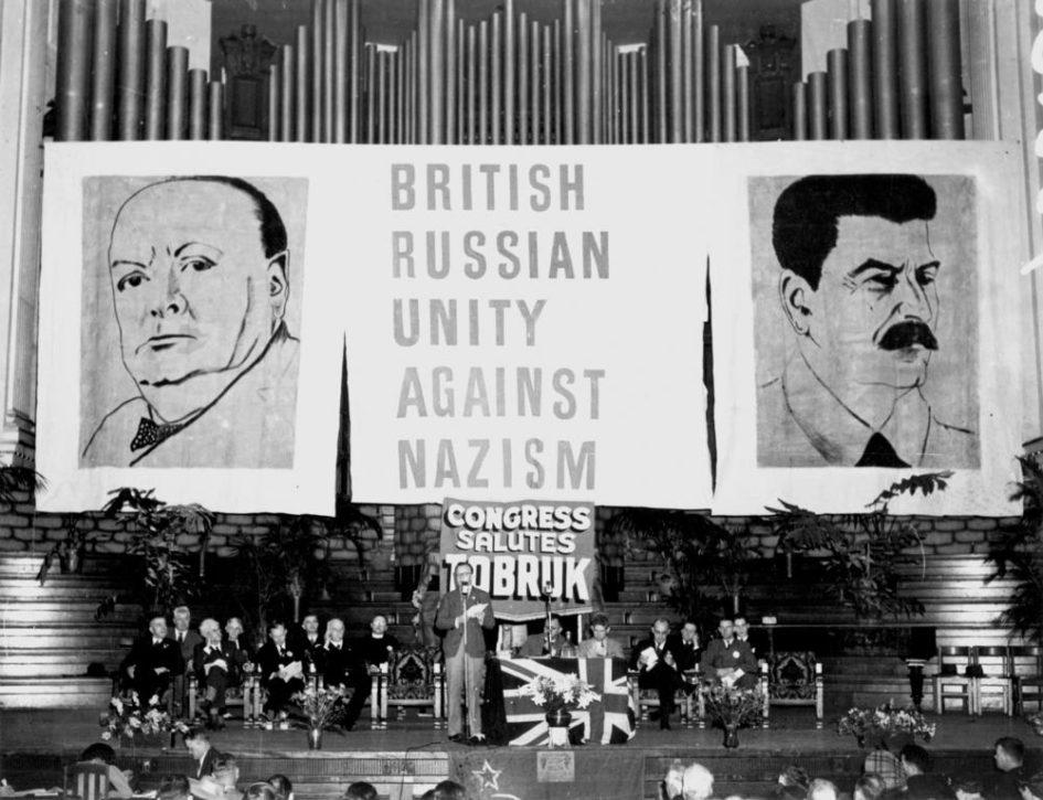 Churchill i Stalin