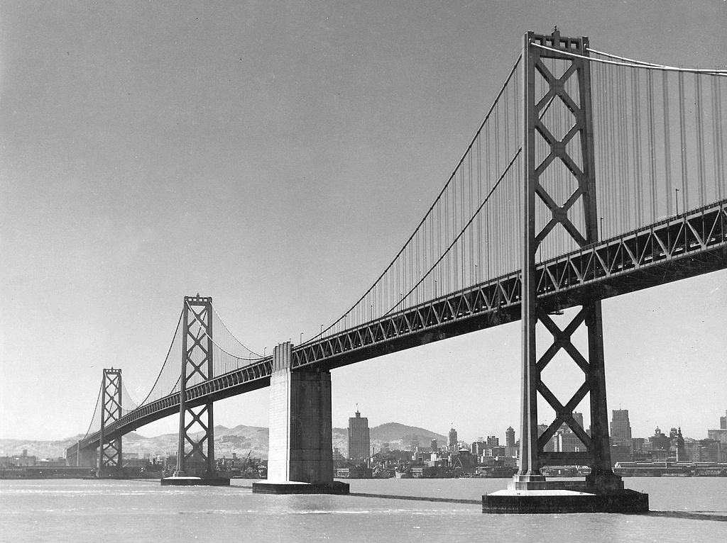 Most San Francisco Bay Bridge