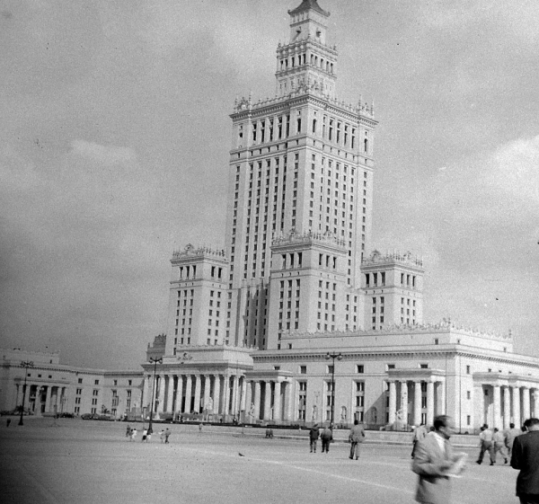 pałac kultury 1956