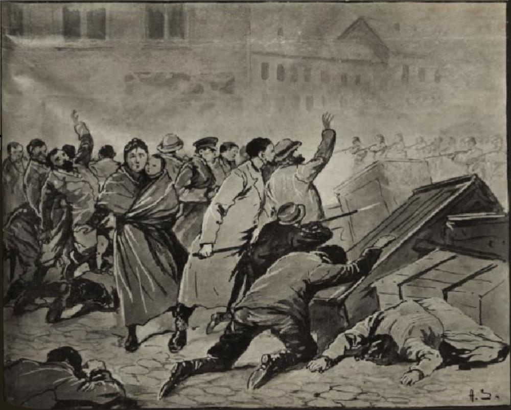 Powstanie łódzkie 1905