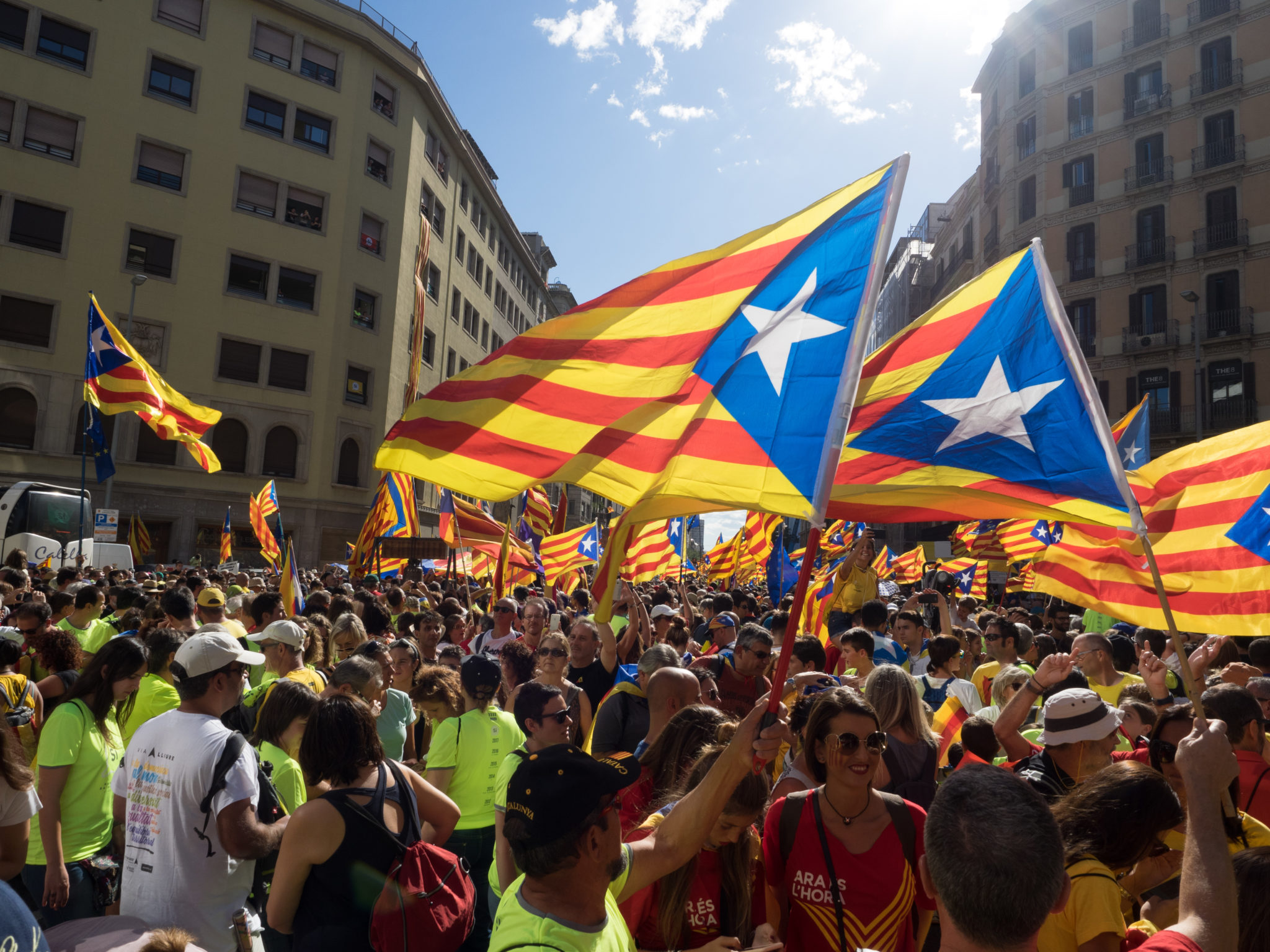 Katalonia 2017: zwolennicy niepodległości regionu